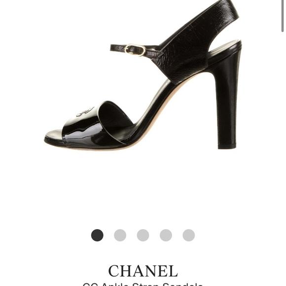 Chanel black pumps